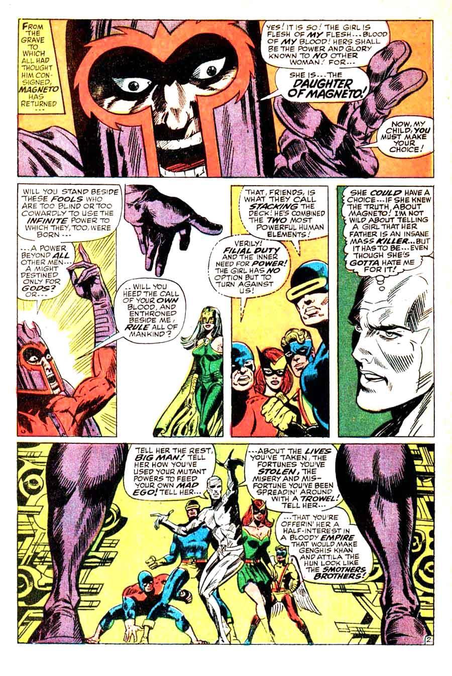 X-men v1 #51 marvel comic book cover art by Jim Steranko