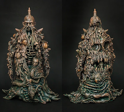 """Wooden Eyes"" Lolgolth Gnazgoroth Vinyl Figure by Skinner x Unbox Industries"