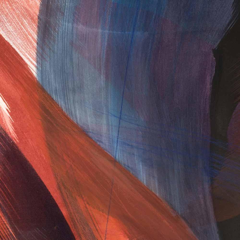 Aquarelle détail 5, 110 x 144 cm, mai 19 © Annik Reymond