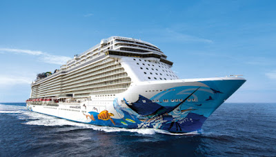 Norwegian Cruise Line's Norwegian Escape to Sail From New York to Bermuda, New England and Canada, Florida, Bahamas and the Caribbean.