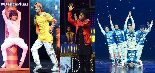 dance +2 finalists