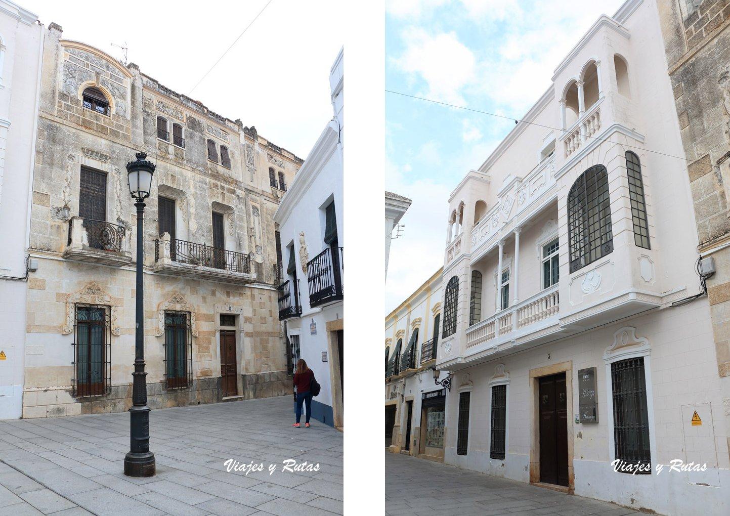Calle Monero Nieto, Palacio Arteaga, Olivenza