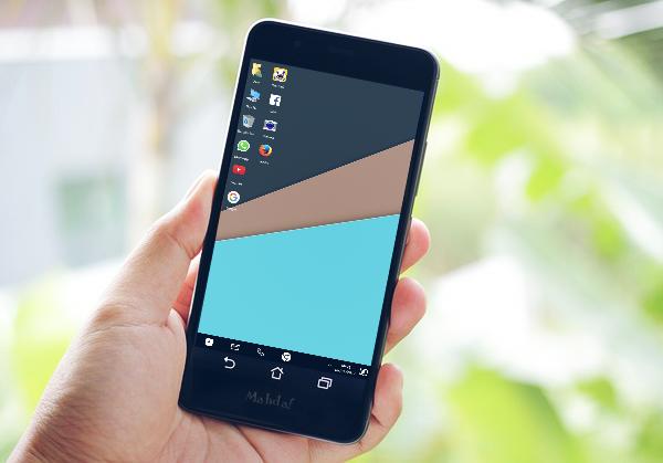 Ini Dia Caranya Merubah Tampilan Smartphone Kamu Jadi PC