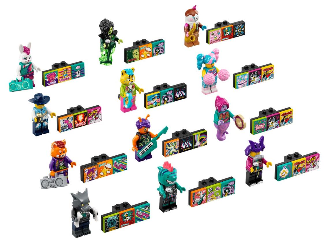 2021年3月発売レゴ新製品VIDIYOはミュージックビデオを作る音楽シリーズ!公式情報公開