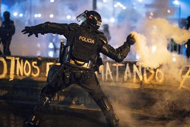"""""""No son aislados"""": HRW sobre abusos policiales en protestas de Colombia"""