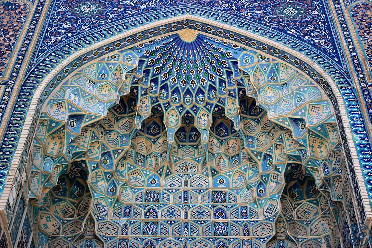 Le Chameau Bleu - Blog Voyage Ouzbékistan - Mosaïque de Samarcande Asie Centrale