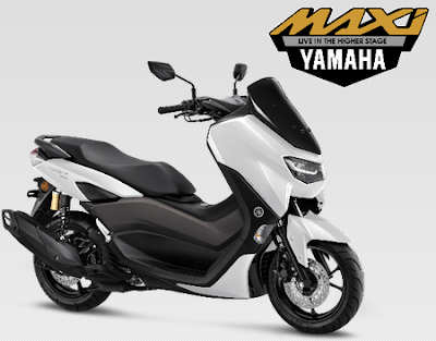 Harga dan Spesifikasi Yamaha  All New NMAX 155 Connected/ ABS Version