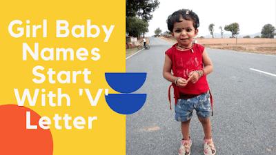 Girl Baby Names Start With V Letter