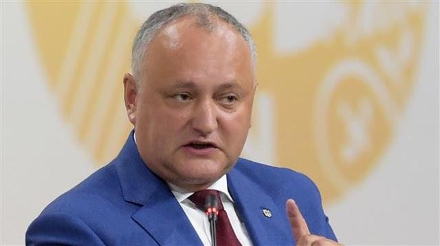 Moldovan President Igor Dodon suspended, snap election called amid political standoff