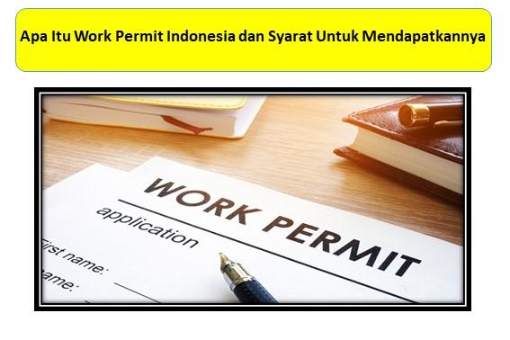 Apa Itu Work Permit Indonesia