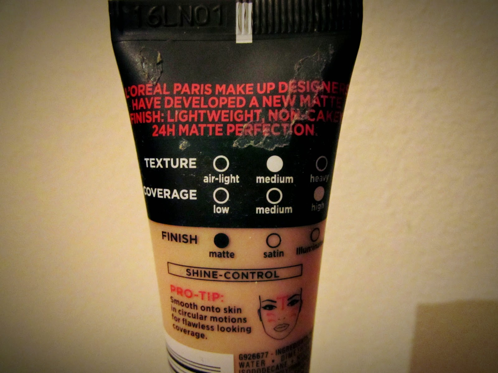 L'Oreal Infallible 24 hour matte foundation review