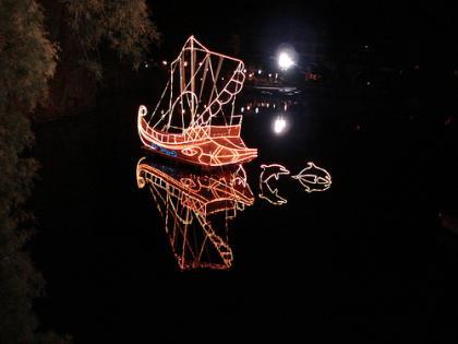 Christmas Boat  Crete