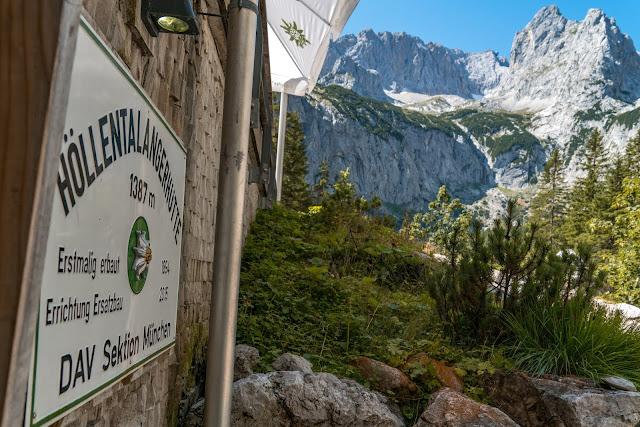 Höllentalklamm - Riffelscharte - Eibsee | Wandern in Garmisch-Partenkirchen 01