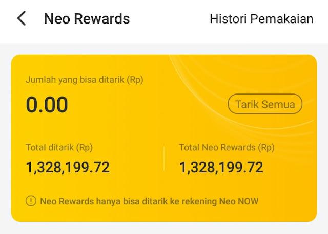 Neo Reword Ambil Gratis