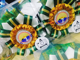 Special rosette lei for officials of Philippine Coast Guard