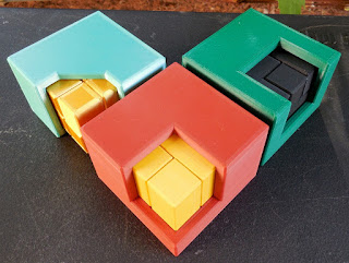 Corner Cube, Edge Cube, and Angle Cube by Andrew Crowell