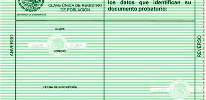 Texto de Obtener tu CURP verde Mexico