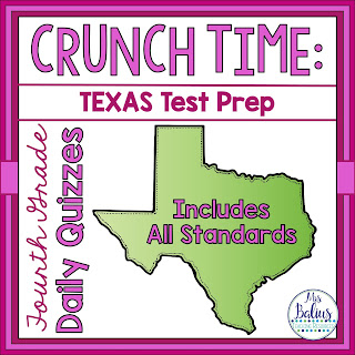 Fourth Grade Texas Test Prep Math Quizzes