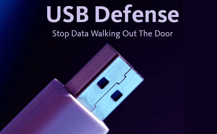 USB Defense: Stop Data Walking Out The Door