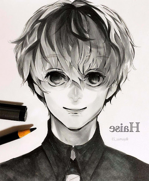 Aesthetic Anime Black And White