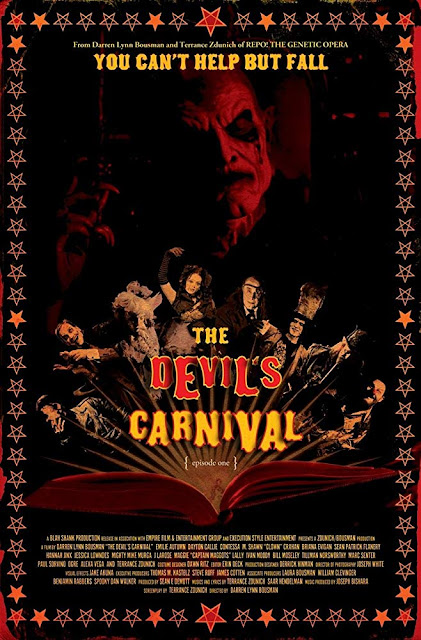 The Devil's Carnival 2012 horror musical movie poster