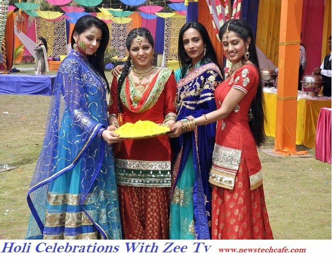Holi celebrations By Zee tv