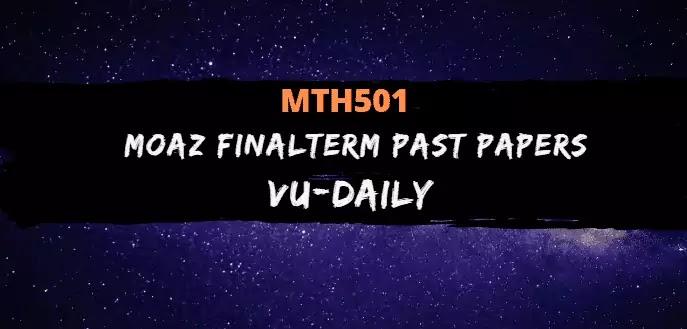MTH501 MOAZ