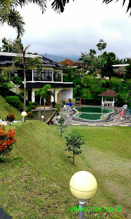 kolam villa di ciater subang