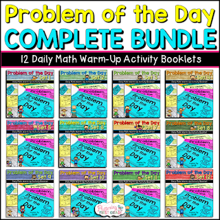 Problem of the Day Daily Math Warm-Up Booklets