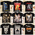 Metallica AC DC Iron Maiden Grup Tişörtleri