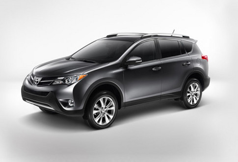auto cargo transport toyota rav4 gets new look and better fuel economy. Black Bedroom Furniture Sets. Home Design Ideas