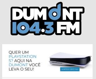 Cadastrar Promoção Dumont Sorteio Playstation 5
