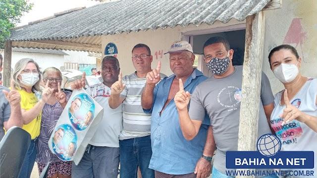 Itapebi:  Prefeito Peba e o vice Mazinho voltam ao Bairro Novo