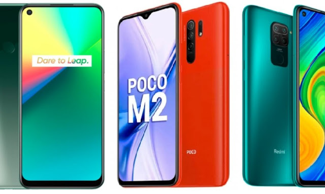 What is your choice in Realme 7i, Poco M2 and Redmi Note 9?  Learn with comparative studies