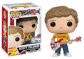 "Pop! Scott Pilgrim vs. the World: Scott Pilgrim with Plumtree Tee (Toys""R""Us Exclusive)"
