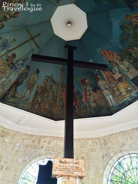 Magellan's cross up close