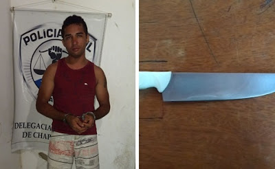 Policiais Civis e Militares prendem acusado de estupro em Buriti-MA