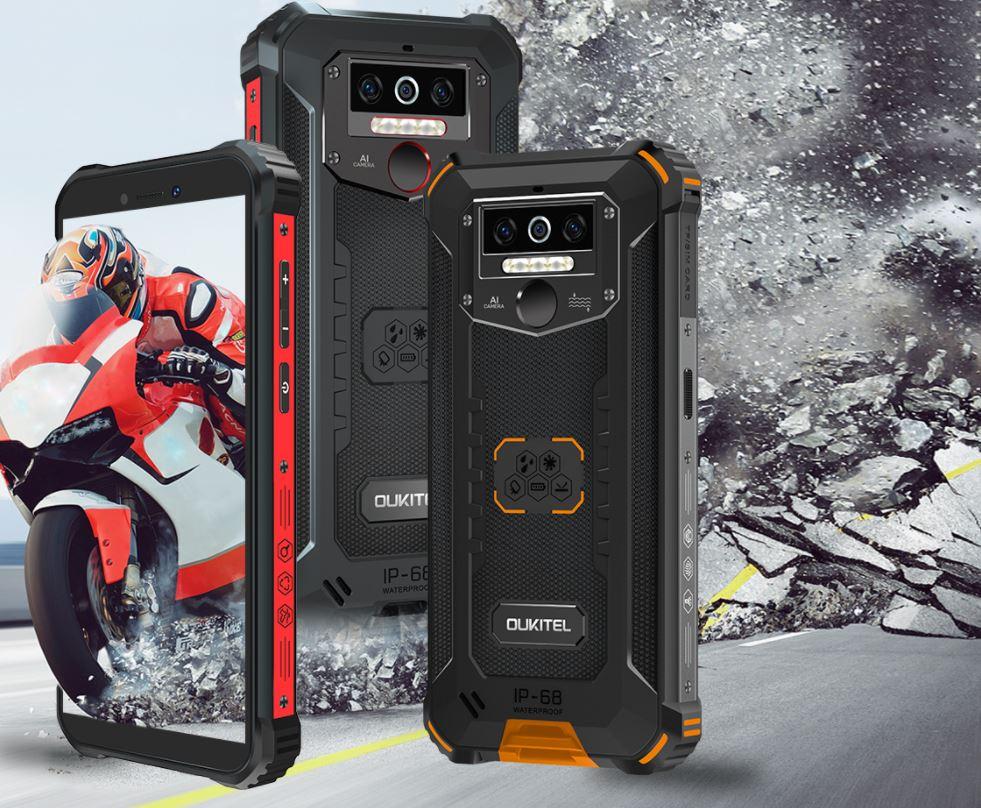 Harga dan Spesifikasi Oukitel WP5 Pro, Smartphone Outdoor Tangguh Bertenaga Helio A25