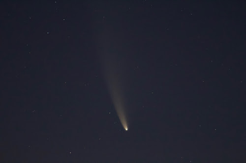 comet neowise from indiana 300mm