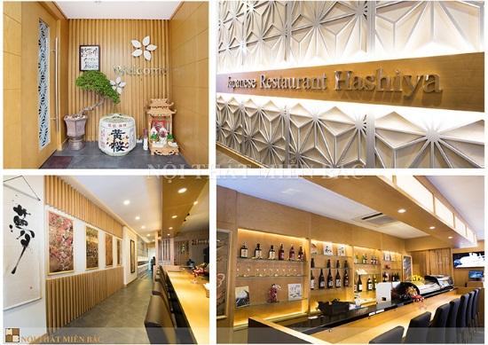 Thi công nội thất nhà hàng Nhật Hashiya 50 Đào Tấn