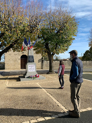 French village lockdown diaries we will remember them 11th November 2020