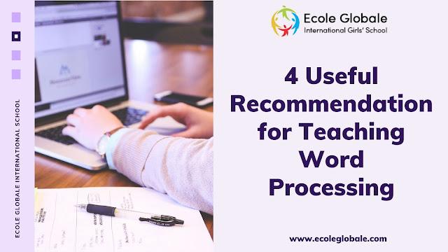Teaching Word Processing