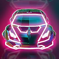 Neon Flytron: Cyberpunk Racer Mod Apk