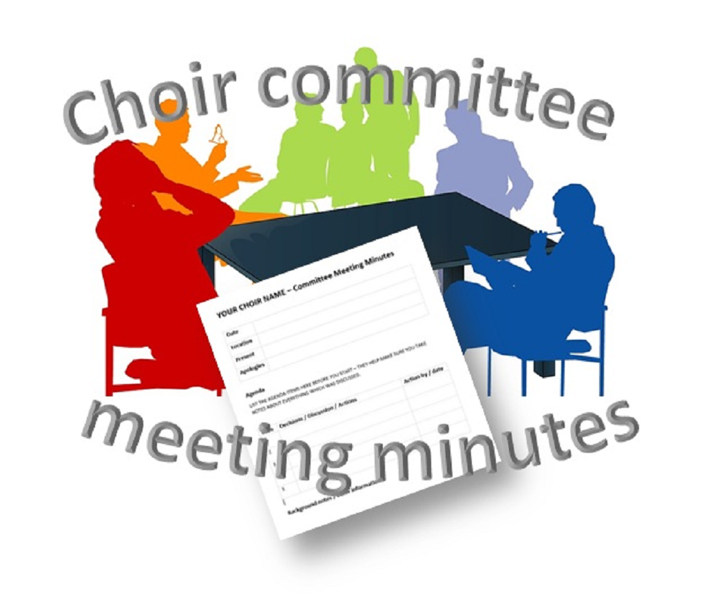 Minutes of the general meeting: design details