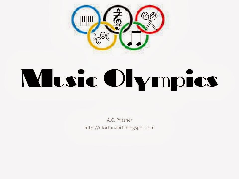 O For Tuna Orff: Music Olympics!