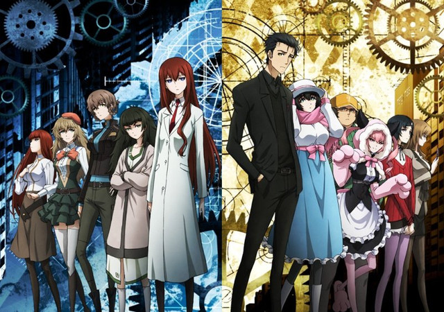 Steins;Gate 0 - grafika z bohaterami anime
