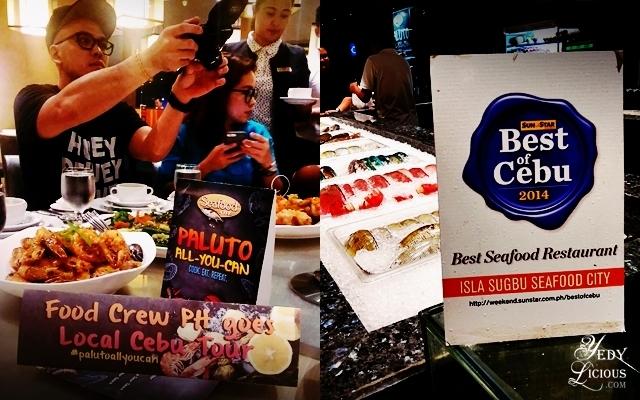Isla Sugbu Seafood City Cebu YedyLicious Manila Food Blog Review