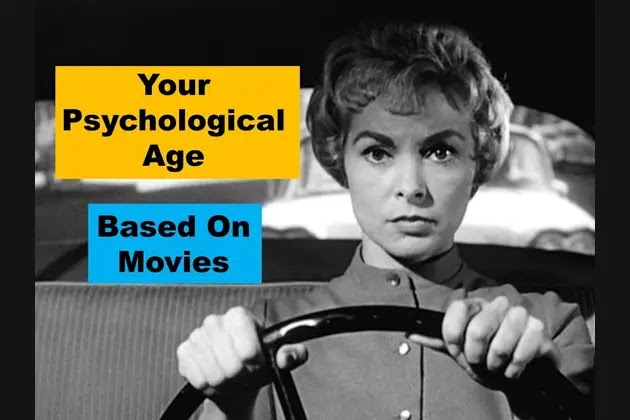 What's Your Psychological Age Based On The Movies You Recognize?