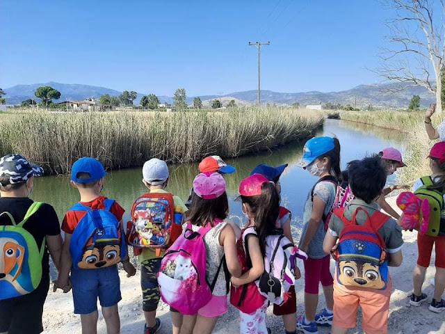 Το Νηπιαγωγείο Νέας Κίου συμμετείχε σε εκπαιδευτικό πρόγραμμα για το περιβάλλον