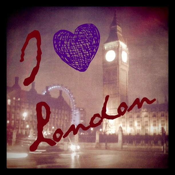 {ErinOutandAbout} I heart London